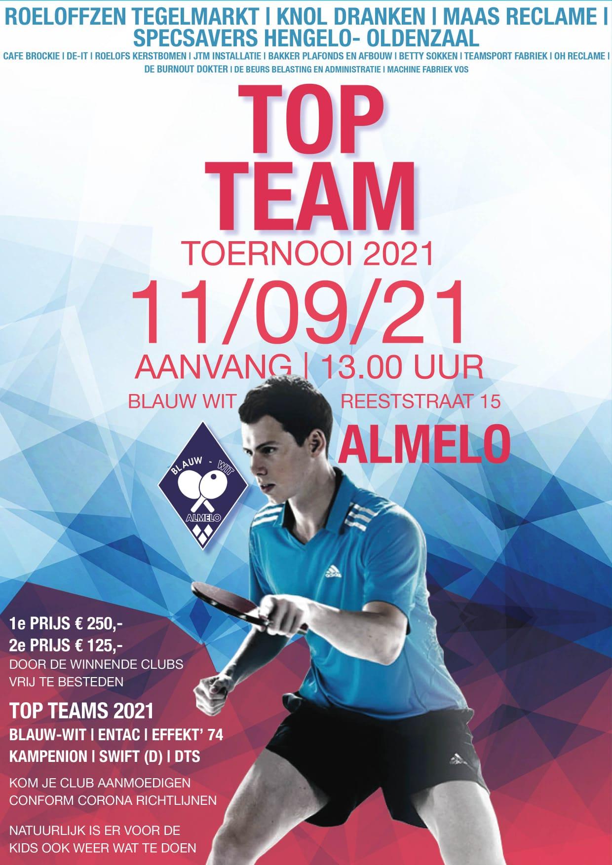 tafeltennis toernooi almelo topteam blauw wit 2021